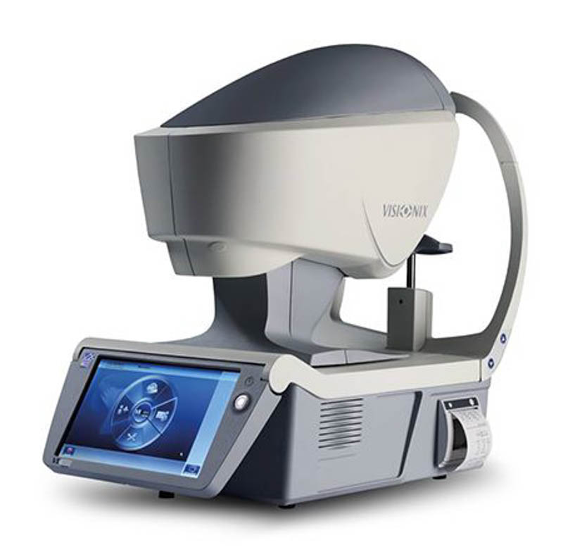 Visionix VX120 Autorefractor / Keratometer / Corneal Topographer / Wavefront Aberrometer / Pachymeter with Anterior Chamber Analysis